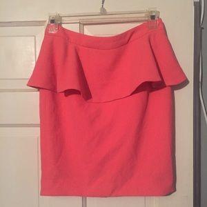 Forever Twenty One Peplum Skirt