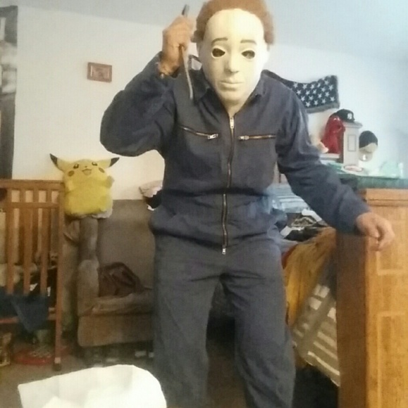 Michael Myers Halloween Costume Men Large And Kids Size