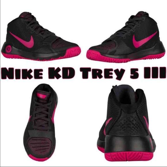 get cheap 5a46c b6418 Nike KD Trey 5 III Magenta Pink   Black