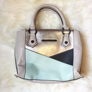 Steve Madden Handbags - Steve Madden Mini Color Block Satchel
