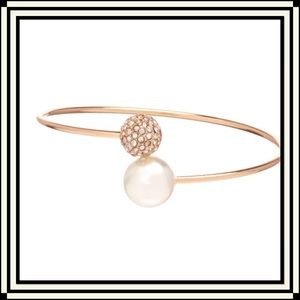 Anna & Ava Jewelry - 🌺HP🌺 Anna & Ava Pearl and Fireball Cuff Bracelet