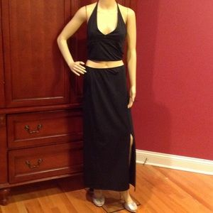 Moda International Halter Top and Skirt Set-NWOT