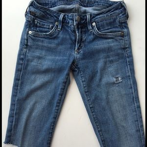 24th & Ocean Pants - Citizens of humanity cut off jean shorts size 24