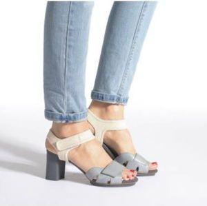 Camper Shoes - Camper myriam platform velcro sandals