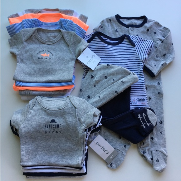 de8c6e802 Carter's Other | 3 X Carters Baby Boy Sets Newborn | Poshmark