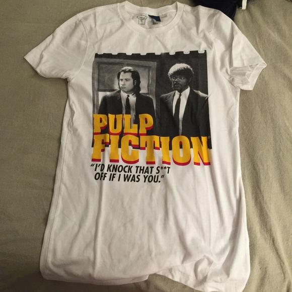 ef17482e H&M Tops | H And M Pulp Fiction Shirt | Poshmark