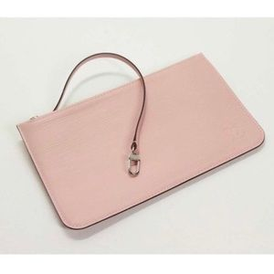 ISO: Louis Vuitton Epi Rose Ballerine pouch only.
