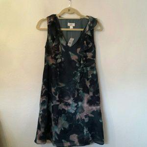 LOFT Dresses & Skirts - Ann Taylor LOFT floral watercolor print dress
