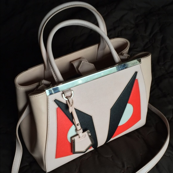 2bf0418b5bfe FENDI Handbags - ✨100% Authentic Fendi 2Jours Monster Petite Tote ✨