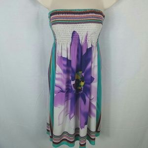 christina love Dresses & Skirts - Strapless halter dress small