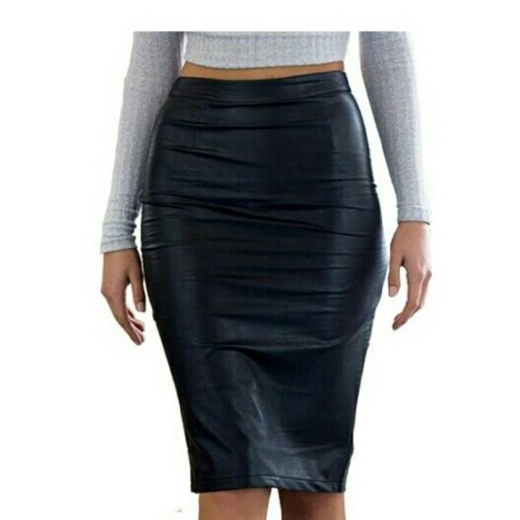 Women's knee high pencil skirt