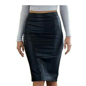 Dresses & Skirts - Women's knee high pencil skirt