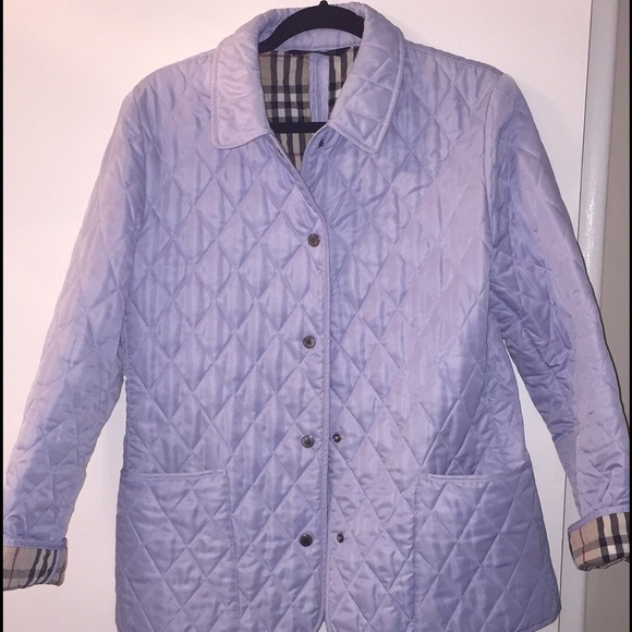 71% off Burberry Jackets & Blazers - Authentic Burberry Constance ... : burberry purple quilted jacket - Adamdwight.com