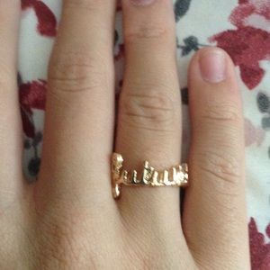 Worded ring