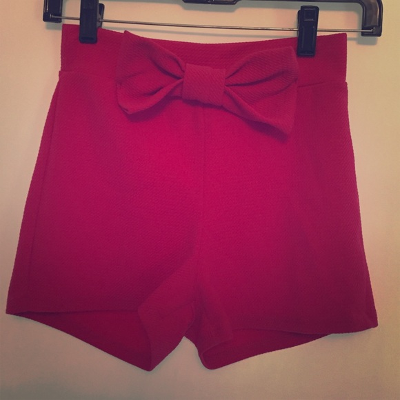 High Waisted Cloth Shorts