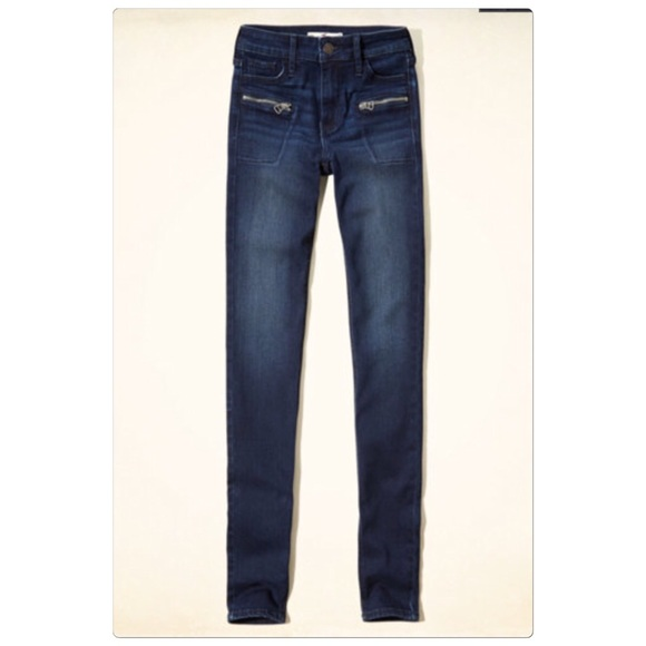 Hollister - 🇺🇸SALE - New Hollister zip pocket skinny jeans ...