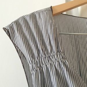 Kara line Dresses - Striped wrap dress