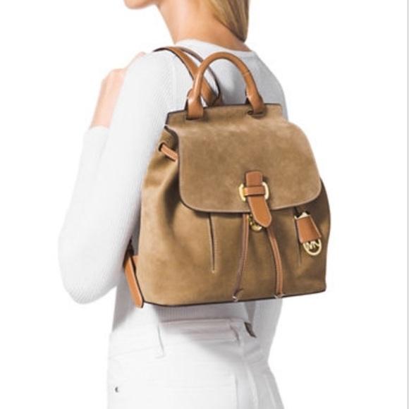 1e1f717c5c67 Michael Kors Bags | Sold Nwt Romy Backpack | Poshmark