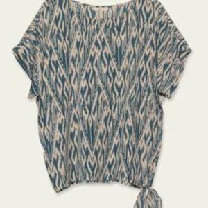 Joie Balmain Sleeve side tie shirt