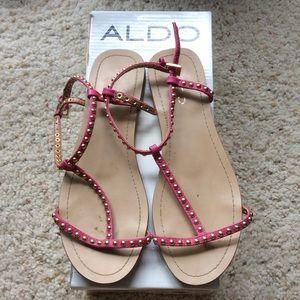 ALDO Shoes - ALDO pink sandals!