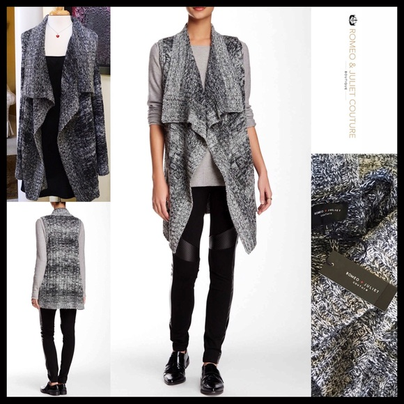 42% off Romeo & Juliet Couture Sweaters - ROMEO JULIET CARDIGAN ...