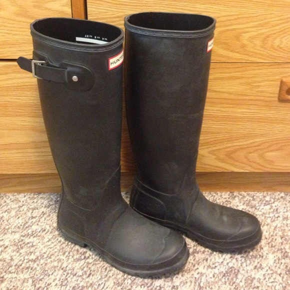 20 off hunter boots shoes final price black matte