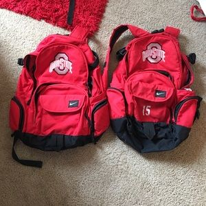 Nike Ohio state backpack (with number)