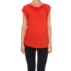 Michael Kors sleeveless blouse with cinched sides