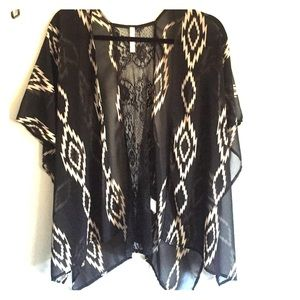 Sheer tribal cover up
