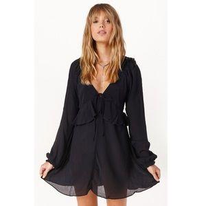 Stone Cold Fox Dresses & Skirts - Stone cold fox🖤 silk  jay dress 2 black