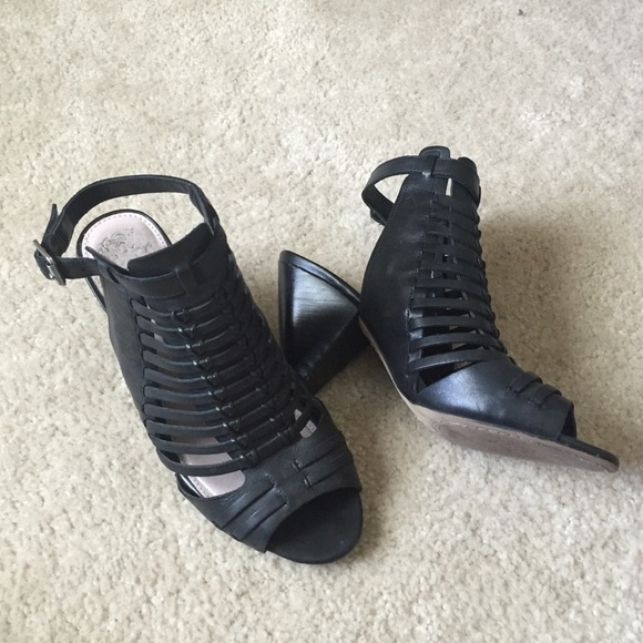 4ad01534566 Vince Camuto Caged Cone Heel Sandal. M 57856a6a2ba50a4ab80251e2