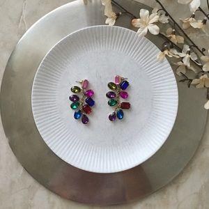 Jewelry - Gem Earrings 💙💗💚