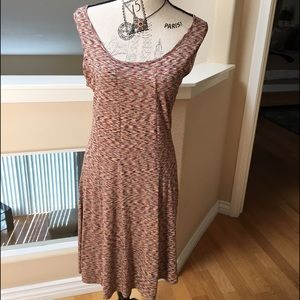 Adorable Cap Sleeve A Line Dress by M Frederic