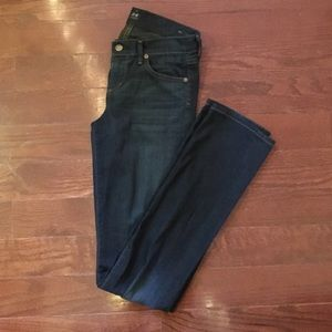 Citizens of Humanity - Straight Leg, Low Rise Jean