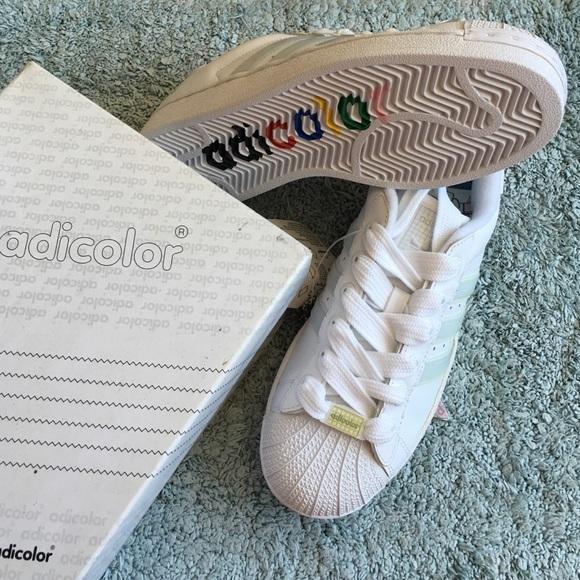 hot sale online dd395 ffec8 Adidas Superstar II W5 Adicolor edition NWT