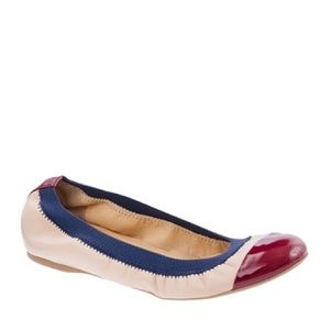 J. Crew Shoes - J.Crew Mila Cece Leather Flats 7 Italy Cap Toe