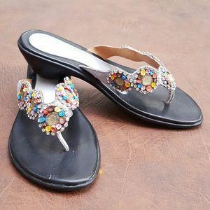 Shoes - Jeweled sandal