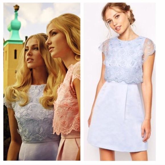 e640b6a712188a NEW Ted Baker Dabria floral bodice dress
