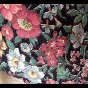 Vintage Accessories - Vintage Rooster Cotton Flower Power Hippie Tie