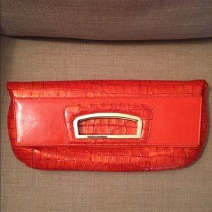 Abas Handbags - Awesome retro croc clutch that becomes purse too!