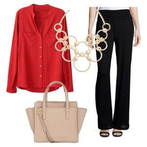 Sisley Pants - Sisley black wool trousers