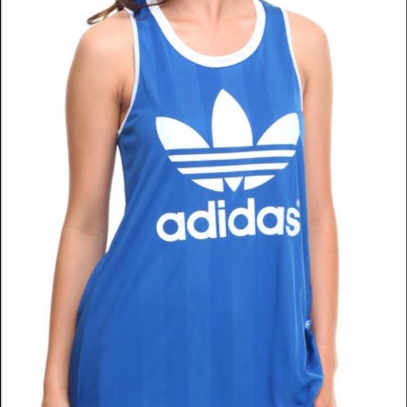 adidas Tops   Adidas Tank Top Jersey New With Tags   Poshmark