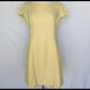 Adrianna Papell Light Yellow Dress Size 10