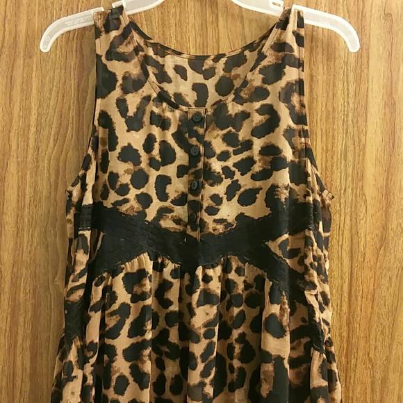 Express Dresses - Express LeopardPrint Dress