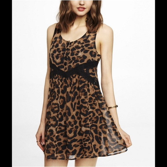 Express Dresses & Skirts - Express LeopardPrint Dress