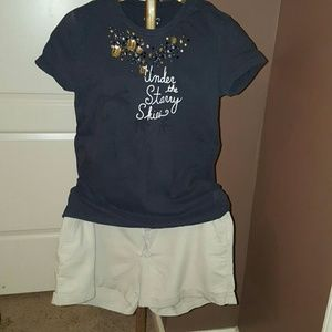 Pants - SHORTS  khaki linen