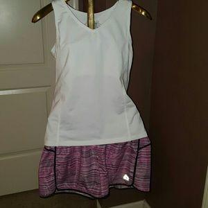 Pants - Running shirt & SHORTS (total outfit!)