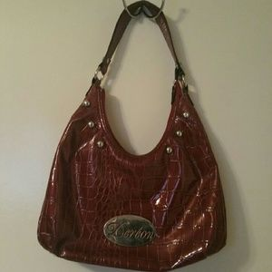 Dereon Handbags - Burgandy dereon hobo purse