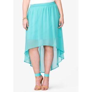🌵Forever 21 High-Low Skirt