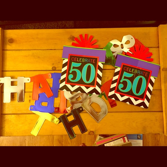 50th Birthday Decoration Bundle